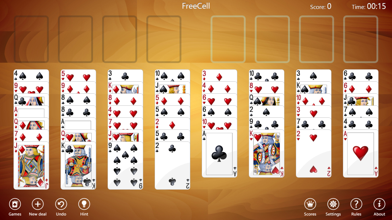 FreeCell Collection Free for Windows 10 Screenshot